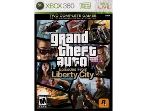Xbox 360 Grand Theft Auto: Episodes From Liberty City