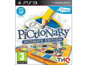 PS3 uDraw Pictionary Ultimate Edition