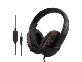 Herní sluchátka s mikrofonem (PS4/Xbox One/PC)