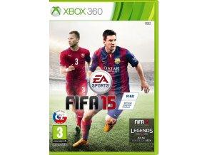 Xbox 360 FIFA 15 CZ