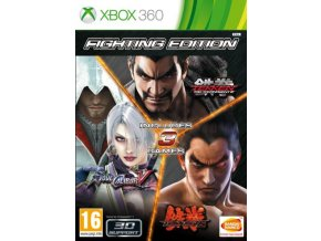 fighting edition tekken 6 tekken tag tournament 2 soulcalibur v x360