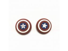 Návleky na analogové páčky - Captain America