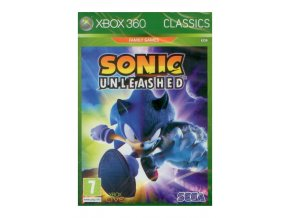 Xbox 360 Sonic Unleashed