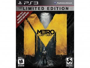 PS3 Xbox 360 Metro: Last Light CZ (Limited Edition)