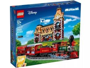Stavebnice LEGO Disney Vlak a Nádraží 71044