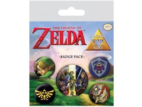 Sada placek The Legend of Zelda