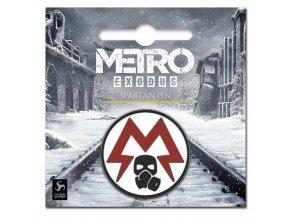 Odznak Metro: Exodus - Spartan Logo