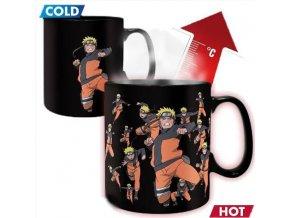 Hrnek Naruto Shippuden - Multicloning, měnící se