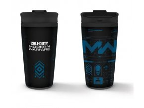 Cestovní hrnek Call of Duty: Modern Warfare - Icons