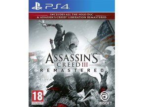 PS4 Assassins Creed 3 Remastered