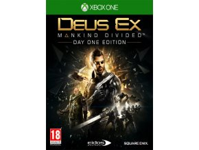 Xbox One Deus Ex: Mankind Divided (Day One Edition)