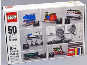 LEGO Limited Edition 4002016 50 Years on track