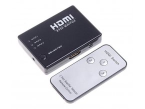 HDMI Switch 3-1 s ovladačem