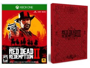 Xbox One Red Dead Redemption 2 SteelBook Edition