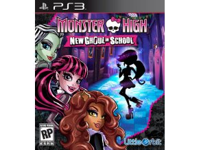 PS3 Monster High: New Ghoul in School