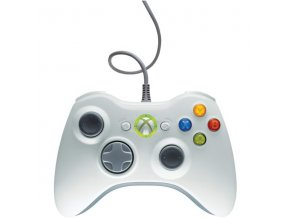 Microsoft Xbox 360 Wired Controller White