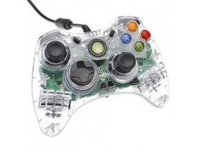 Microsoft Xbox 360 Wired Controller Crystal