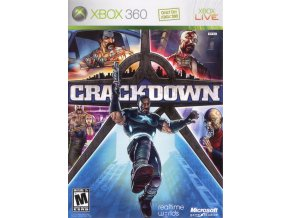 99753 crackdown xbox 360 front cover