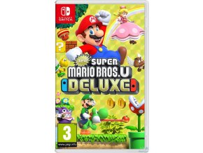 Nintendo Switch New Super Mario Bros U Deluxe  Nové