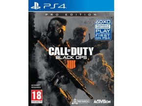 PS4 Call of Duty: Black Ops 4 Pro Editionx