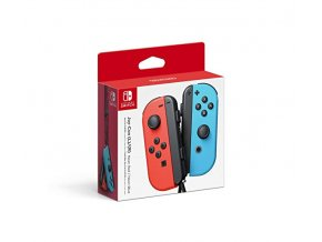 Nintendo Switch Joy-Con Neon Red/Neon Blue