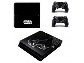 PS4 Slim Polep Skin Darth Vader