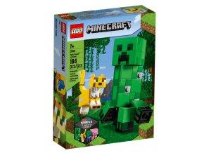 LEGO Minecraft 21156 Velká figurka: Creeper a Ocelot