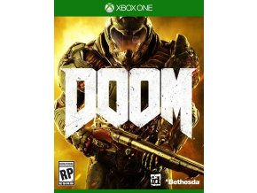 Doom 2016 Xbox One Cover Art