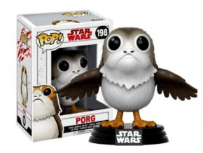 Funko POP Star Wars Episode VIII Bobble-Head Porg Vinylová 9 cm