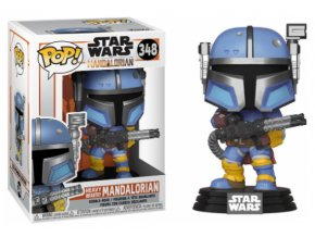 Funko POP Star Wars The Mandalorian TV Vinyl Heavy Infantry Mandalorian