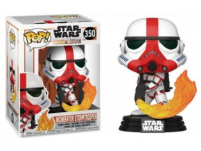 Funko POP Star Wars The Mandalorian TV Incinerator Stormtrooper