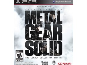 PS3 Metal Gear Solid: The Legacy Collection 1987 - 2012
