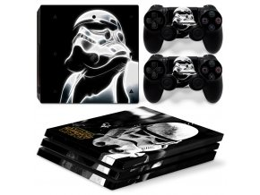 PS4 Pro Polep Skin Star Wars