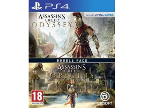 Assassins Creed: Odyssey + Origins Double Pack