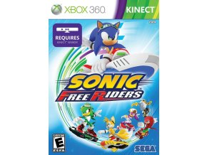 Xbox 360 Sonic Free Riders (Kinect)