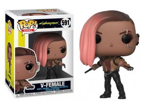 Funko POP Games Cyberpunk 2077 V-Female