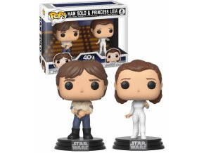 Funko POP Star Wars Han & Leia Double pack