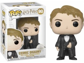 Funko POP Movies Harry Potter - Cedric Diggory (Yule)