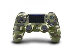 Sony Dualshock 4 Green Camouflage