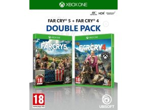 Xbox One Far Cry 5 + Far Cry 4 (Double Pack)