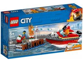 60213 LEGO City 60213 Požár v přístavu