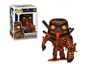 Funko POP Marvel Spider-Man Far from Home Molten-Man