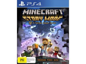 PS4 Minecraft: Story Mode