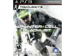 PS3 Tom Clancy's Splinter Cell: Blacklist CZ