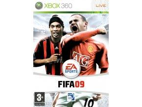 Xbox 360 FIFA 09 CZ
