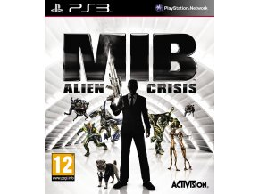 PS3 Men in Black Alien Crisis