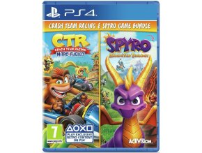 PS4 Crash Team Racing: Nitro Fueled + Spyro: Reignited Trilogy