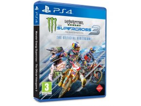 PS4 Monster Energy Supercross 3: The Official Videogame