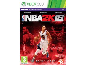 NBA 2K16 Xbox 360 Packshot Curry English zoom
