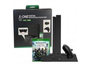 Xbox One / S / X Vertikální nabíjecí stojan s aktivním chlazením